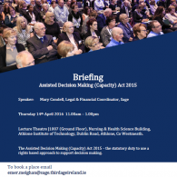 Briefing on ADM(C) Act 2015 in Athlone Image