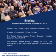 Image for Briefing on ADM(C) Act 2015 Dublin 9
