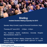 Briefing on ADM(C) Act 2015 Dublin 15 Image