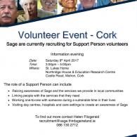 Information Event for Volunteers Cork Image