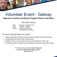 Image for Evening Event for Volunteers Galway