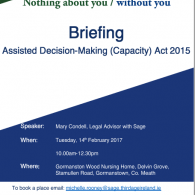 Image for ADM (Capacity) Act 2015 Briefing