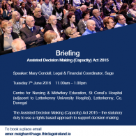 Briefing on ADM(C) Act 2015 Donegal Morning Session Image