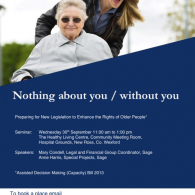 Preparing for New Legislation to Enhance the Rights of Older People Image