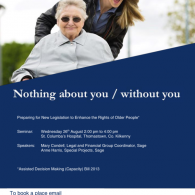 Image for Preparing for New Legislation to Enhance the Rights of Older People