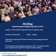 Image for Briefing on ADM(C) Act 2015 Waterford
